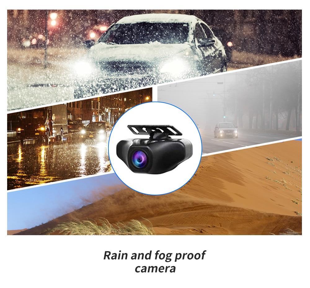 Car DVR HD 1080P 12 Inch 4G Android Rearview Mirror  GPS WIFI ADAS Dash Cam 4G+32G Dual Lens Recorder Auto Camera Registrar DVRs