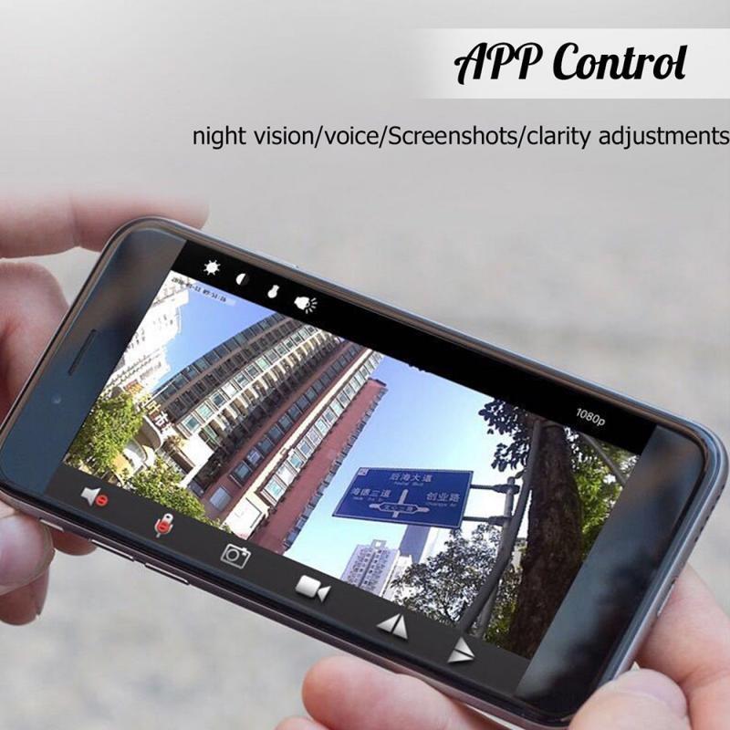 1PCS 1080P HD Mini Camera IP WIFI Camcorder Wireless Home Security Car DV DVR Night Vision Micro Sports Cameras Cam Dropshipping
