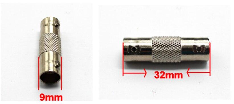 10pcs 2pcs JR-B15 solderless female cctv BNC connector BNC injector for cctv system