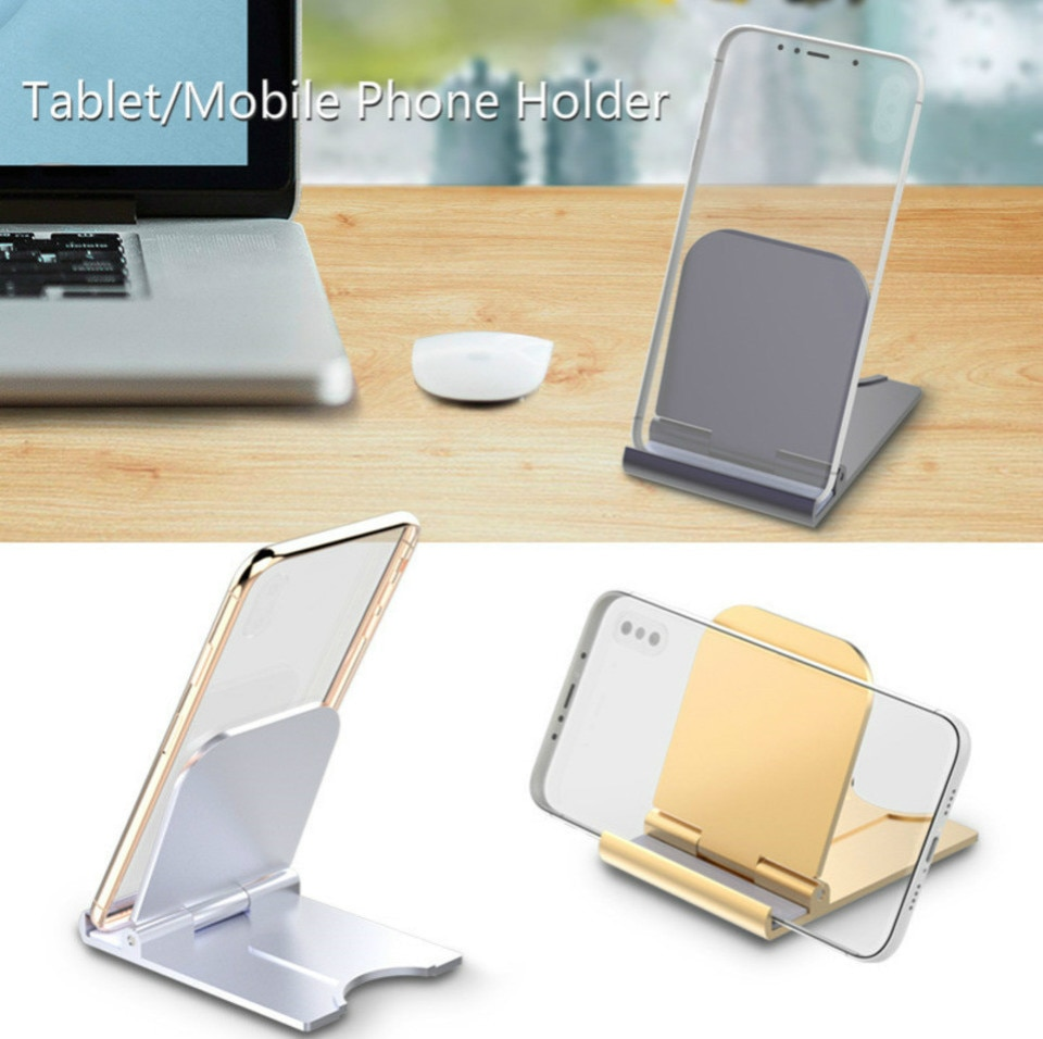 TNSULY Mobile Phone Holder Desktop Folding Small Simple Portable Universal Tablet Computer Stand