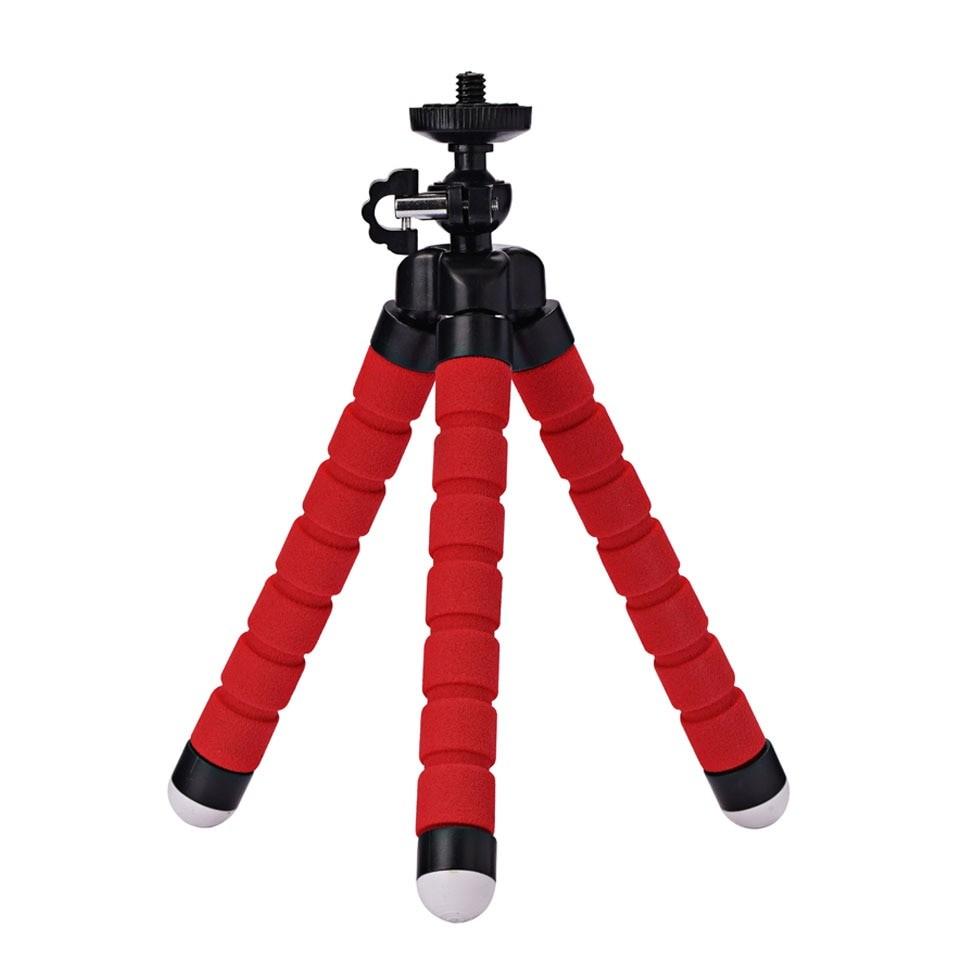 Roreta Portable tripod mini  flexible  sponge octopus tripod suitable for mobile phone iPhone Samsung Gopro 8 7 camera